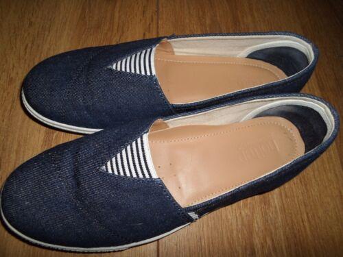 Fit Hot Escarpins Laurel toile en taille à Std 5 Denim 6rHPFqnw6