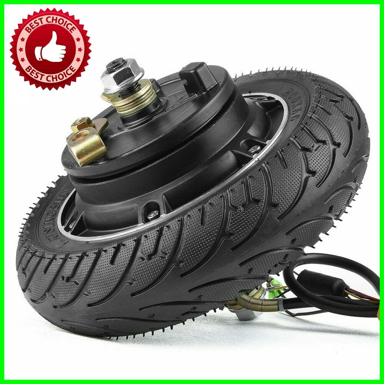 Electric Scooter Hub Wheel Motor 24V 36V 48V DC Brushless Toothless 8  Wheel