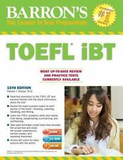 Barron's TOEFL IBT with CD-ROM and MP3 Audio CD, 15th Edition by Pamela J....
