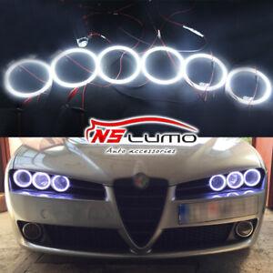 Para-Alfa-Romeo-159-2005-2011-Led-Angel-Eye-Anillos-de-Luz-Faros-95mm-90mm-85mm