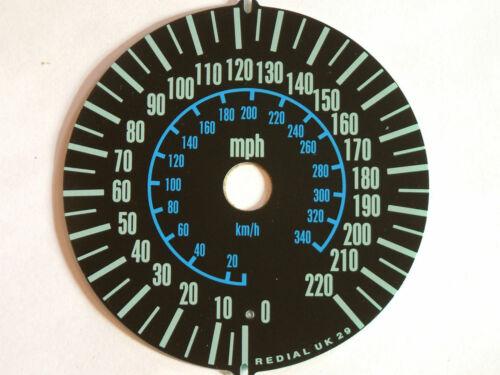 2000 REPLACEMENT MPH SPEEDO CLOCK DIAL UNDERLAY KAWASAKI ZX12R ZX1200-A1//A1H