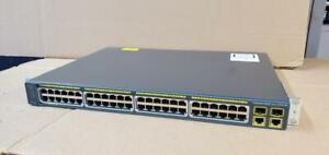 Cisco Catalyst 2960 WS-C2960-48PST-L 48-Ports POE Rack-Mountable Switch Canada Preview