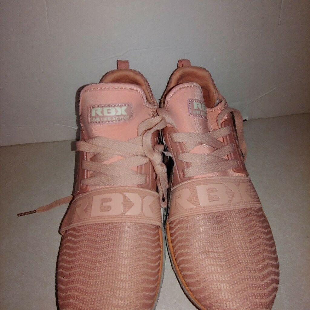 Women RBX Reebok Pink Live Life Active Sneakers Size 7 1 2