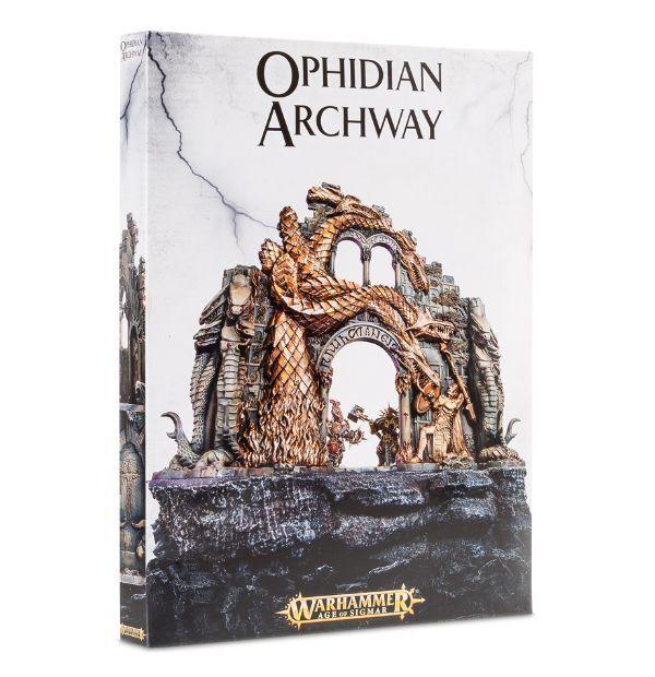 OPHIDIAN ARCHWAY - WARHAMMER AGE OF SIGMAR - GAMES WORKSHOP