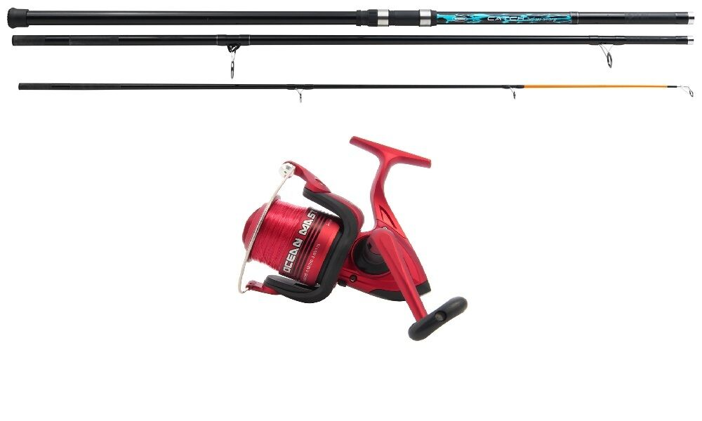 16 ft Mitchell Rod & Large Size 70  Reel  Beachcaster Beach  Sea Fishing