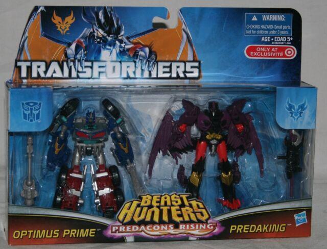 transformers prime beast hunters target optimus predaking MOSC