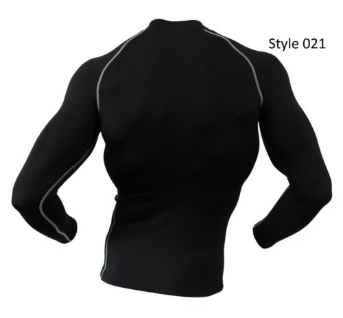 Mens COOVY Sports Cool Dry Fit Gear Base Layer Athletic Shirt Tights Short Pants