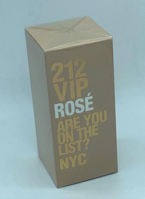 Carolina Herrera 212 VIP ROSE Are you on the List NYC EDP