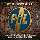 Live At O2 Shepards Bush Empire 2015 von Public Image Limited (2016)