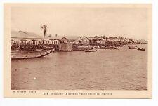 SENEGAL SAINT LOUIS le bord du fleuve devant les marchés