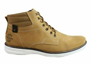 NEW-PEGADA-JACKSON-MENS-LEATHER-LACE-UP-CASUAL-BOOTS-MADE-IN-BRAZIL