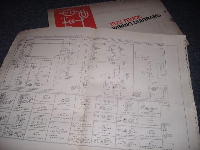 1975 F 100 Wiring Diagram