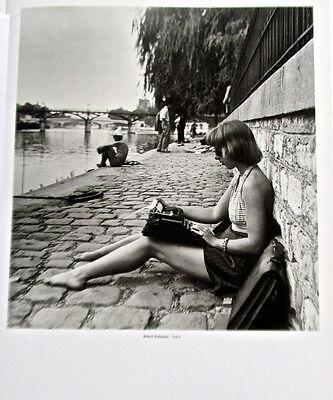 Robert Doisneau Poster  print Woman in halter top TYPIST 15 1/2 x12