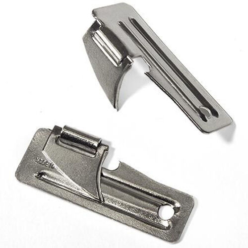 2 X Army P51 Style Survival Tin Can Opener for Cadets, Camping Bushcraft Scouts