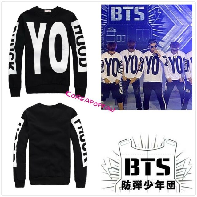 Bangtan Boys Kpop BTS G-dragon gd 2ne1 jumper sweater pullover New