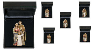 Sacra-Famiglia-Cm-5-5-5-pezzi-con-Astucci-Holy-Family-woodcarved-with-box