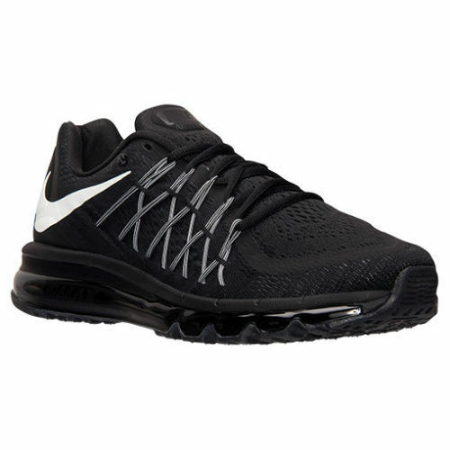 best website e893a 09539 cheap New Nike Men s Air Max 2015 Running Shoes Black White 698902-001