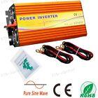 1500W DC 24V-110V AC Pure Sine Wave Solar Panel Inverter w/ MPPT Function Home