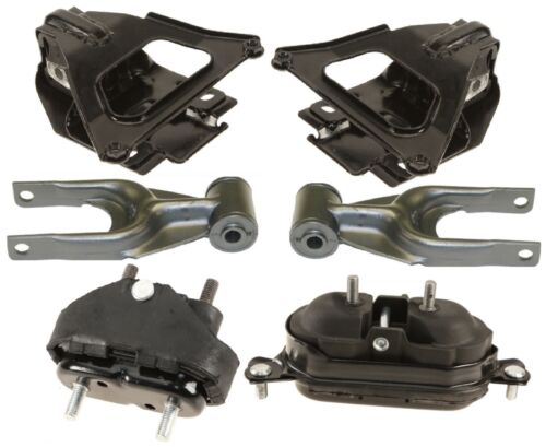 8MB138HD 6pc Motor Mounts fit 3.8L 2000-2005 Chevrolet Monte Carlo Supercharge