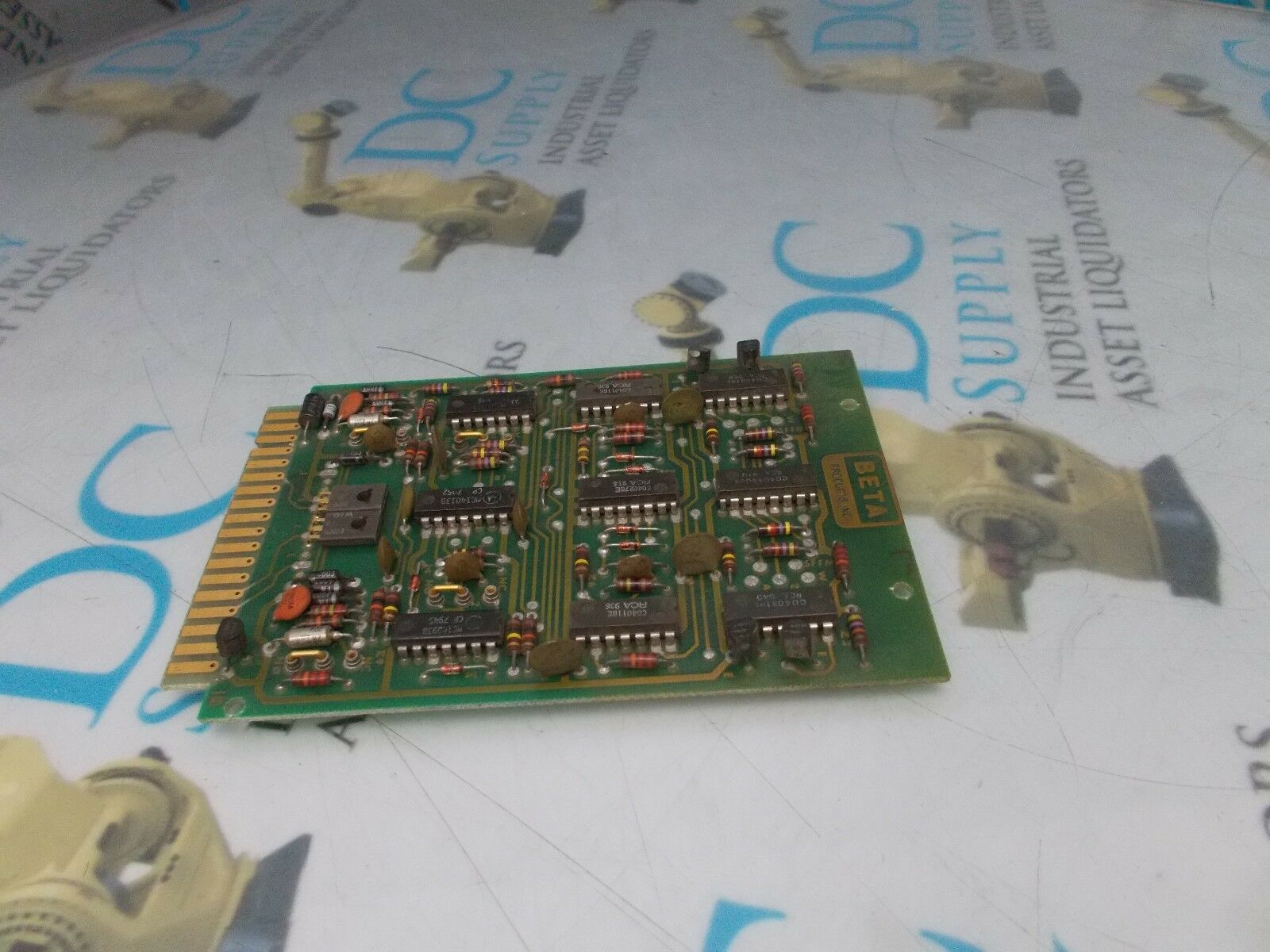 BETA 308194-6B1C REV D CONTROLLER CARD PCB ASSEMBLY