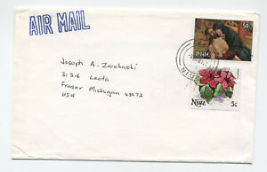 Three-1980s-Niue-covers-to-USA-airmail-L-195