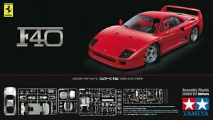 Tamiya-24295-1-24-Scale-Super-Sports-Car-Model-Kit-Ferrari-F40-Coupe-Berlinetta