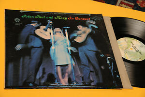 Peter-Paul-Mary-2LP-IN-Concert-Orig-US-EX-NM-Gatefold-Cover-Top-New