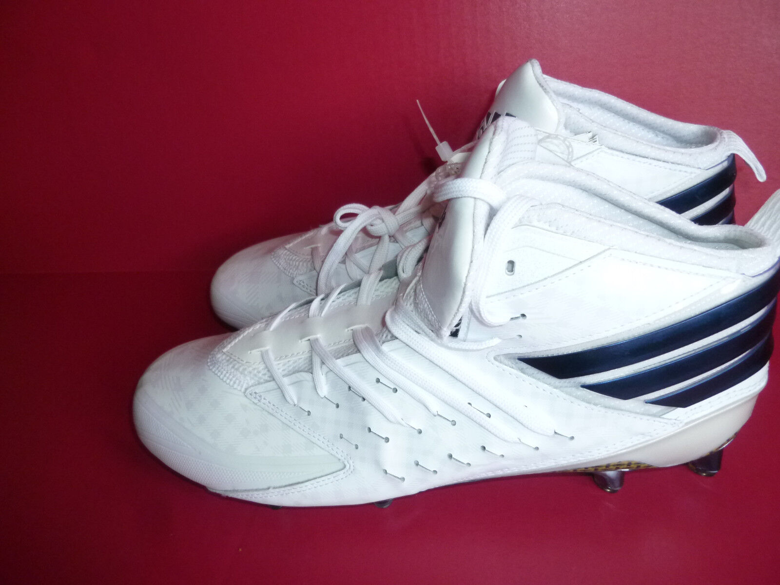 NEW! Adidas Freak X Kevlar Men's Football Cleats US Sz 13 White Blue AQ7366 NWOB New shoes for men and women, limited time discount