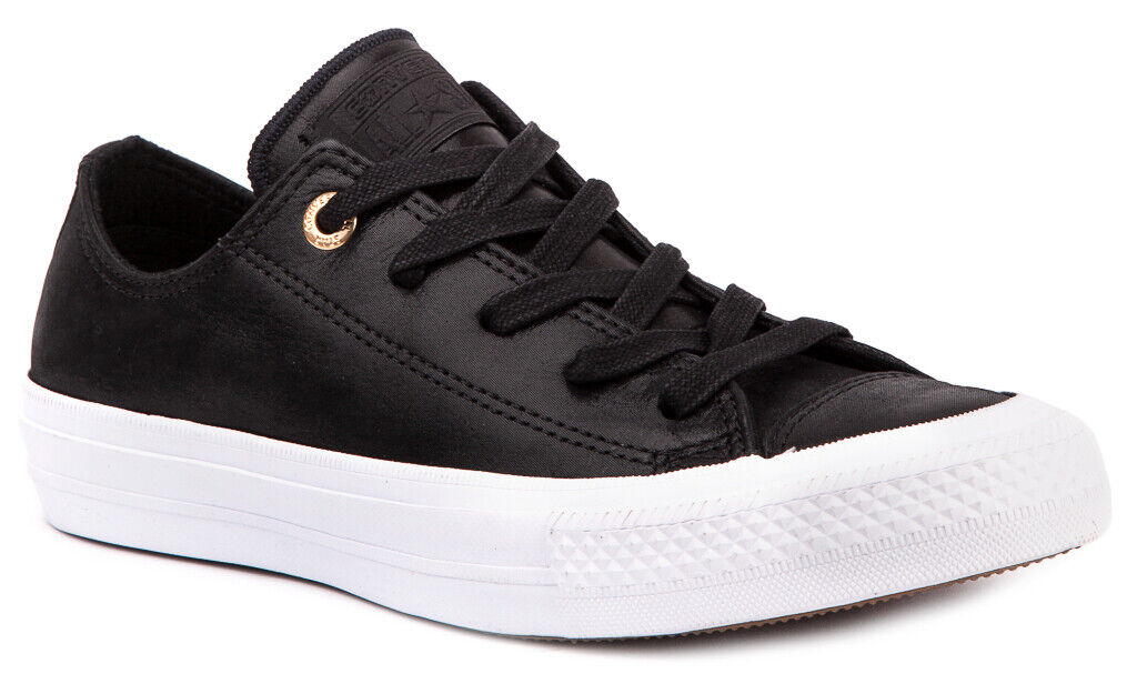 CONVERSE Chuck Taylor All Star II Craft Leather 555958C Sneakers shoes Womens