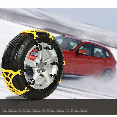 Car Vehicle Truck Off-Road SUV Safe Snow Tire Wheel Chain Anti-skid Belt
