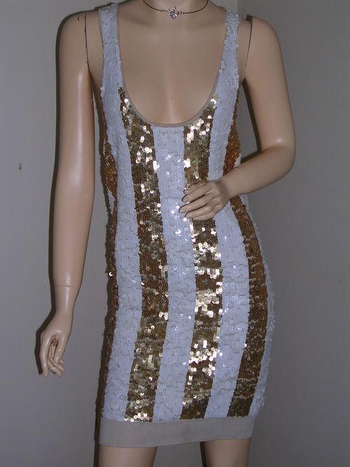 Mini vestido Sass & Bide  todo lo que  será  mano de seda Sequinned-Tamaño Pequeño -  descuento