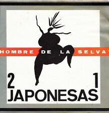 21 JAPONESAS-HOMBRE DE LA SELVA + OSA MAYOR SINGLE VINILO 1989 SPAIN