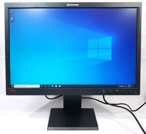 """Lenovo L2250 22/"""" Widescreen 1680x1050 16:10 LCD Monitor VGA DVI Grade B"""