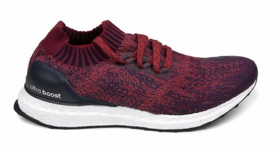Adidas ULTRA BOOST UNCAGED Mystery Red Burgundy Navy BA9617 (459) Men's Shoes