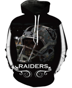 Oakland Raiders Raiders team NFL Marshawn Lynch Hoodies Sweatshirt Size S -7XL
