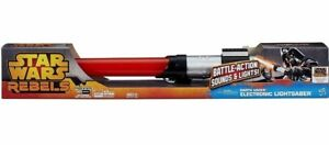 Star Wars Rebels Darth Vader Electronic Lightsaber Toy new in box