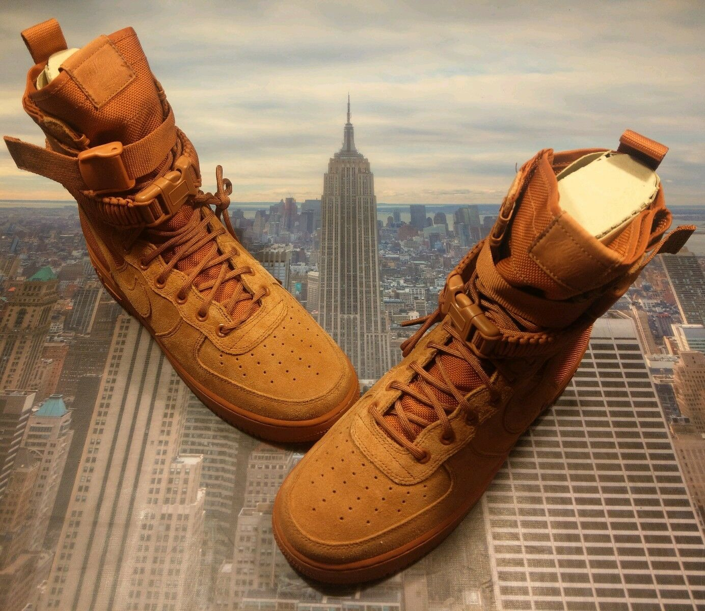 Nike SF AF1 Special Field Air Force 1 Dusty Peach Mens Size 14 864024 204 New