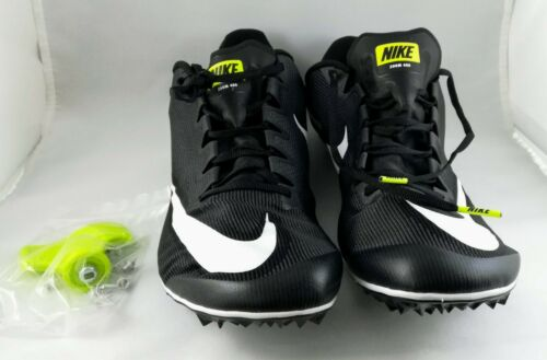 Nike Zoom Negro 5 Field and para hombre Tamaño Spikes 11 Track 400 Blanco SS6WHBr