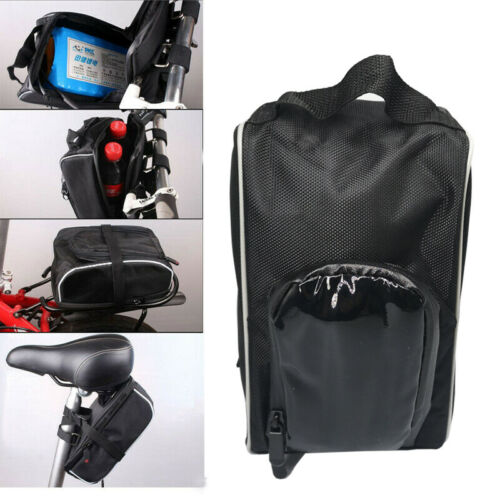 Bike Bag Case Bicycle Portable E-bike Battery Pack Storage Front Hanging
