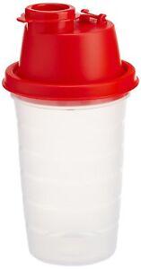 Tupperware-Junior-Quick-Shake-Red-Color-with-Blender-wheel-Shaker-250-ML-NEW