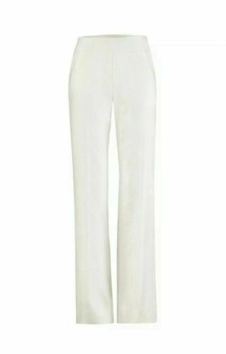 Cabi White Ivory Angel Trousers Pants 5319