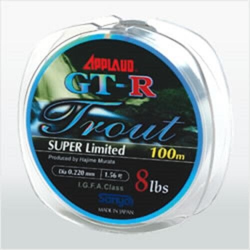 * SANYO APPLAUD GT-R TROUT SUPER LIMITED 100m Nylon Line Violet