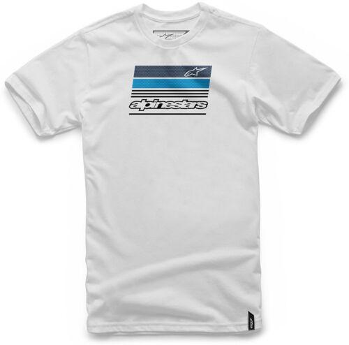 ALPINESTARS News T shirt  White 1037-72054