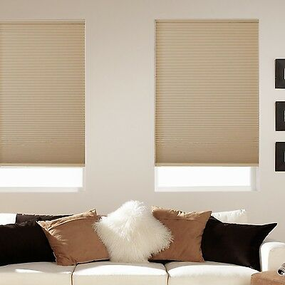 Room Darkening Cordless Cellular Shades Five Colors