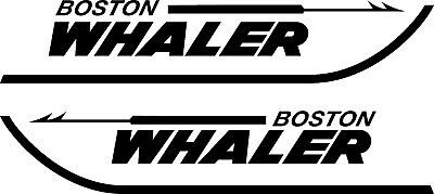 Boston Whaler Boats Logo 24 Quot Sticker Decal Ebay