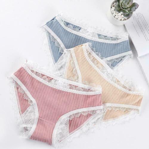 Women/'s Cotton Lace Period Menstrual Panties Leak proof hot Pee-proof E5D5 O8T4