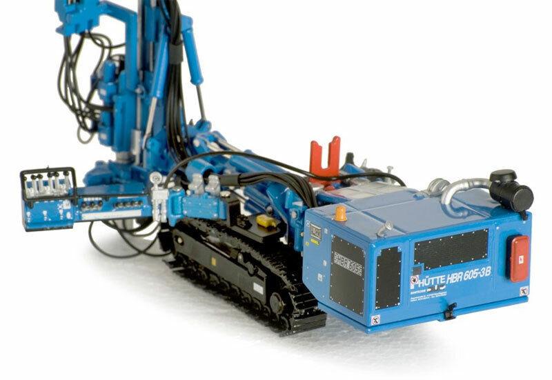 ROS 1 50  MODELLO IN METALLO HUTTE HBR 605 HYDRAULIC DRILL RIG  ART 002104