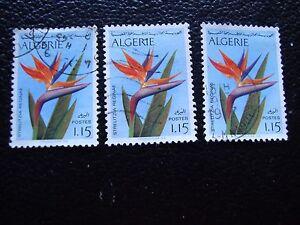 Argelia-Sello-Yvert-Y-Tellier-N-571-x3-Matasellados-A30-Stamp-Algeria