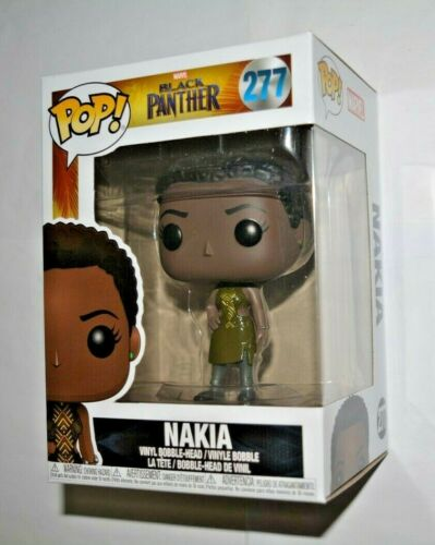 Funko Pop Marvel Black Panther//nakia Nº 277 Vinyl-Sammelfigur environ 10 cm Grand