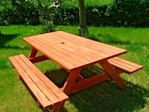 Tavolo Da Giardino In Legno Mod Holiday 8 2 Posti Ebay